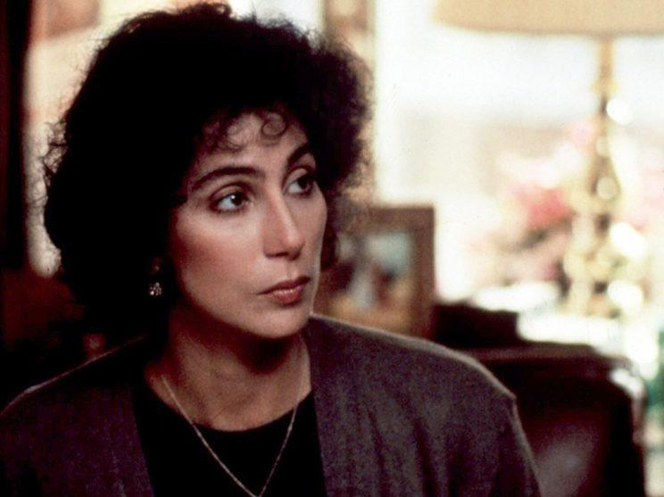 Cher as bookkeeper in 'Moonstruck'