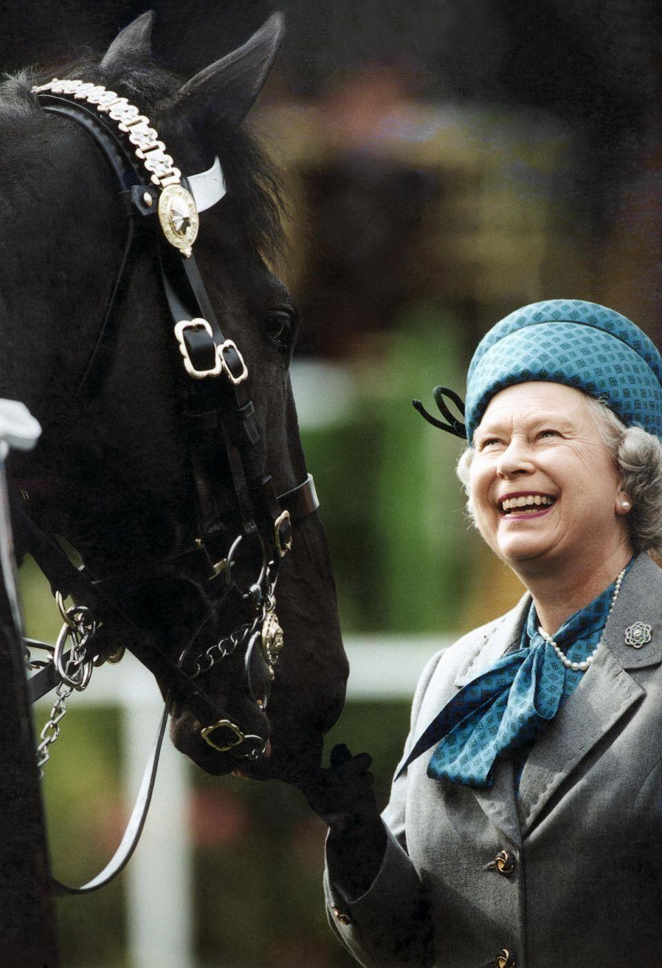 The Queen is known for her love of horses which has spanned decades. Photo: Getty