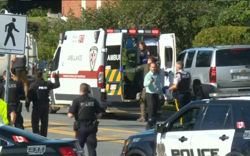 Canada shooting: several dead and suspect in custody in Fredericton