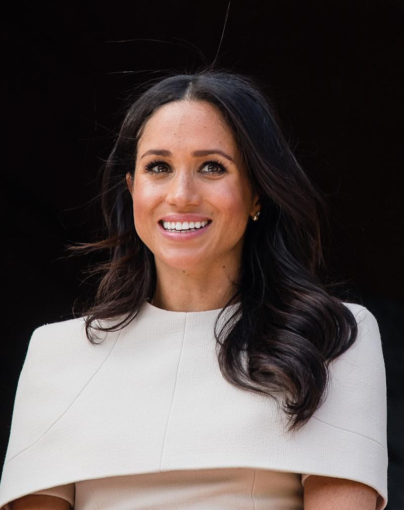Meghan, Duchess of Sussex, has remained largely silent as her family members sell their stories to the press. (Photo: Samir Hussein via Getty Images)