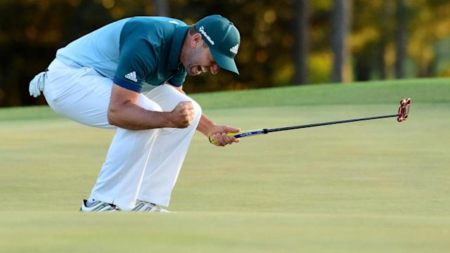 Sergio Garcia won his first major championship with a playoff win over Justin Rose at the Masters.