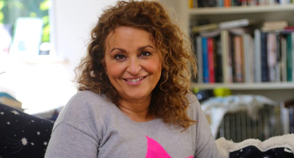 Nadia Sawalha was deeply concerned about her parents' wellbeing at the beginning of lockdown.