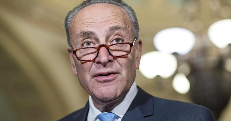 Trump prods Schumer over old Putin photo; Schumer says he'll 'happily' talk about the meeting