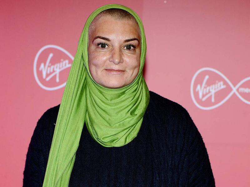Sinead O'Connor training as healthcare assistant