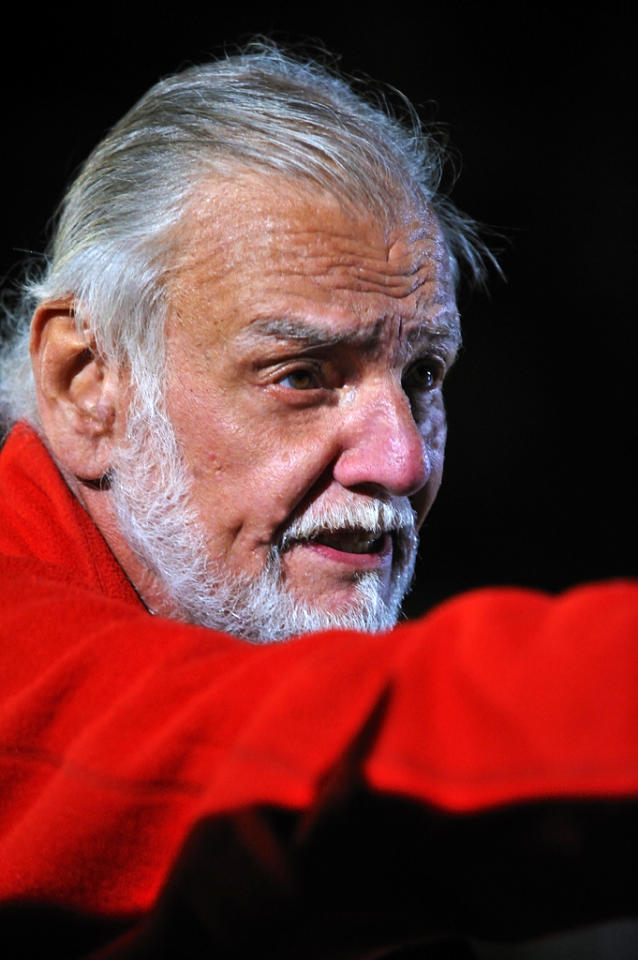 """Director <a href=""""http://movies.yahoo.com/movie/contributor/1800051649"""">George A. Romero</a> on the set of Magnet Releasing's <a href=""""http://movies.yahoo.com/movie/1810045450/info"""">George A. Romero's Survival of the Dead</a> - 2010"""