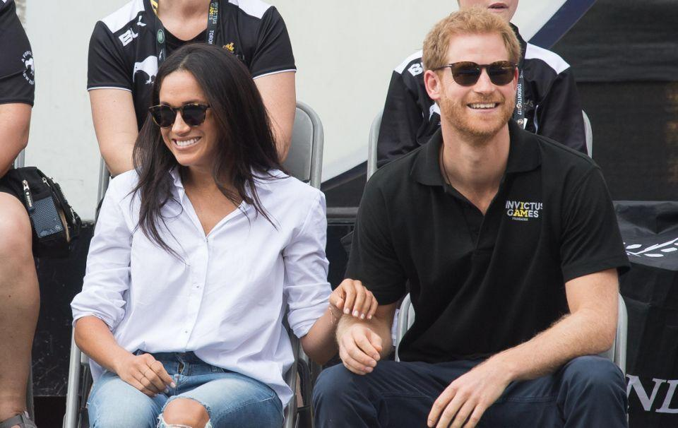 Meghan has no qualms about PDAs either. Source: Getty