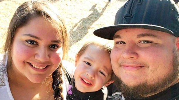 PHOTO: Adan and Mariah Gonzalez pose with their son Raiden in this undated family photo. (Courtesy Rozie Salinas)