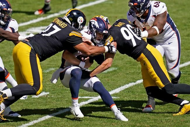 """Welcome to """"Blitzburgh""""; Sack-happy Steelers causing chaos"""
