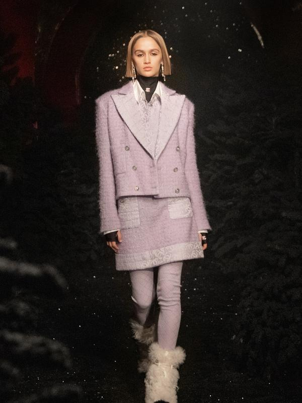 Chanel ready to wear Fall/Winter 2021/2022. Sumber foto: Document/Chanel.