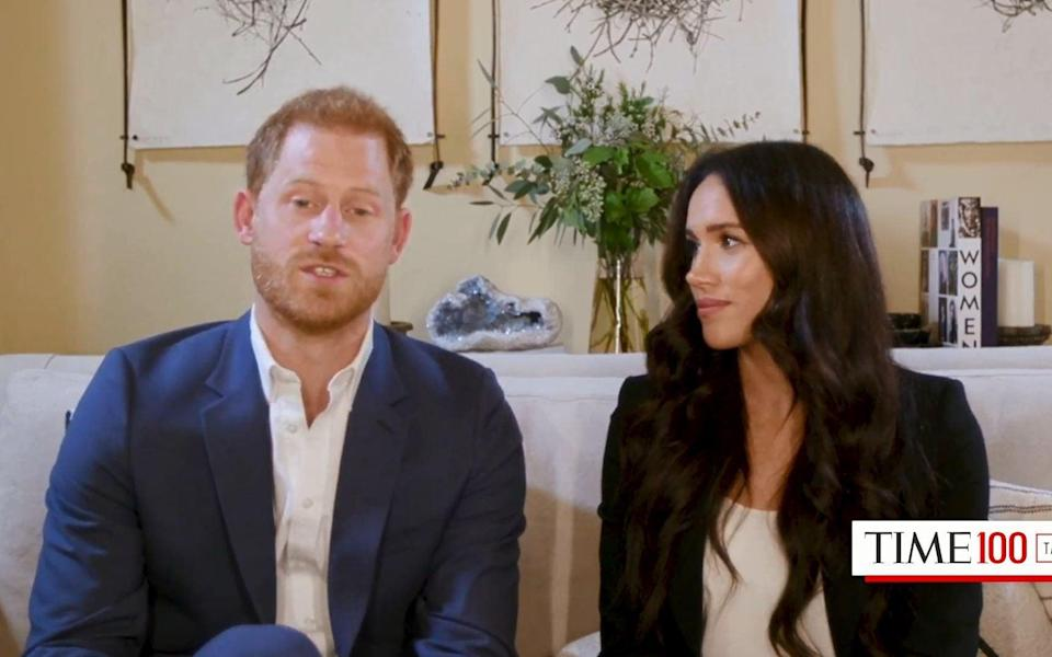 The Duke and Duchess of Sussex host a TIME100 Talks event - Matthew Fearn