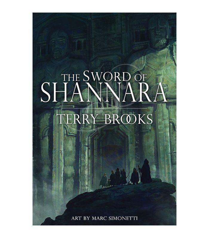 Writer Terry Brooks weaves a story revolving around half-elfin Shea Ohmsford, who finds out he is the only one who can save the world from the Dark Lord. (If you're familiar, the show The Shannara Chronicles is based around Shea's son, Wil, played by Austin Butler). If you're intrigued by elves, druids, and Rovers (a band of medieval thieves), then this series will totally capture your attention.