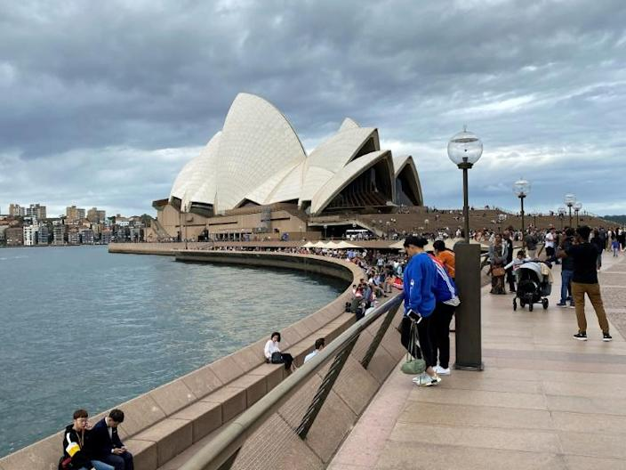 Australia has seen a large number of coronavirus infections linked to cruise ships docking in the country (AFP Photo/Saeed KHAN)