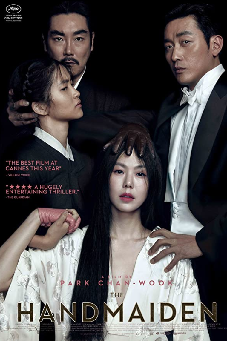 """<p>We'll end this list in South Korea, whose cinema is finally starting to explode in America. Chan-wook Park (<em>Oldboy</em>, another movie about sex, if not, a little more uncomfortable sex) spins a Victorian tale into the present, adds a dash of Hitchcockian suspense, and a lot of erotic tension. Absolutely fantastic. </p><p><a class=""""link rapid-noclick-resp"""" href=""""https://www.amazon.com/Handmaiden-KIM-MIN-hee/dp/B08J8LSZ4S/ref=sr_1_1?dchild=1&keywords=The+Handmaiden+%282016%29&qid=1622132288&s=instant-video&sr=1-1&tag=syn-yahoo-20&ascsubtag=%5Bartid%7C2139.g.36530740%5Bsrc%7Cyahoo-us"""" rel=""""nofollow noopener"""" target=""""_blank"""" data-ylk=""""slk:STREAM IT HERE"""">STREAM IT HERE</a></p>"""
