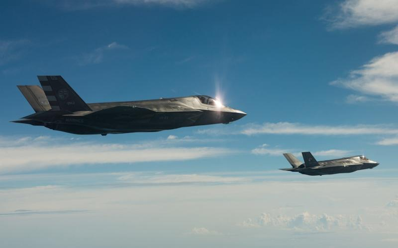 The F-35 programme has been criticised for being bloated and costly  - LOCKHEED MARTIN
