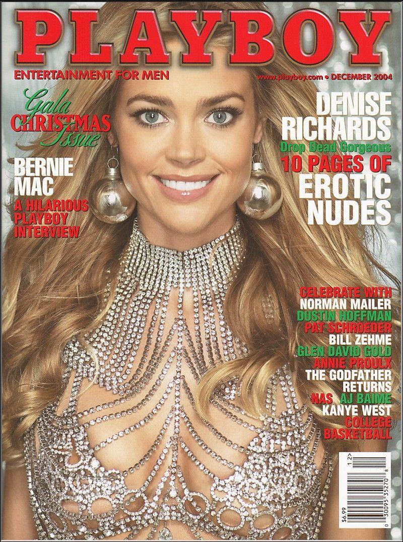 <p><strong>Issue: </strong>December 2004</p><p>Denise Richards was dripping in diamonds on her December 2004 cover.</p>