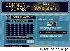 World of Warcraft scams