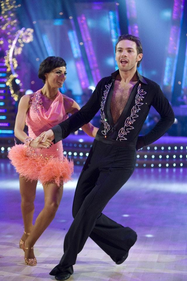 Flavia Cacace and Matt Di Angelo in 2007