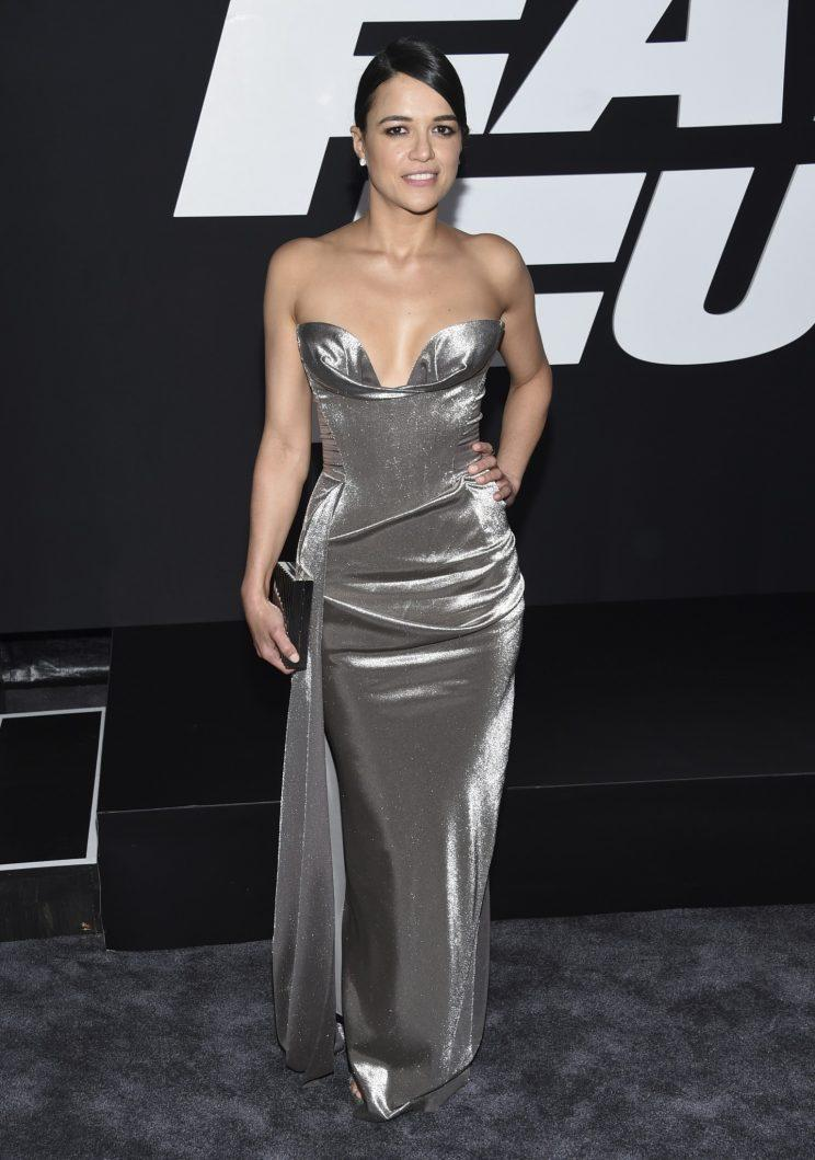michelle rodriguez fast and furious premiere