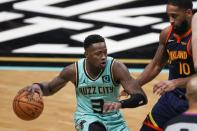 NBA: Golden State Warriors at Charlotte Hornets