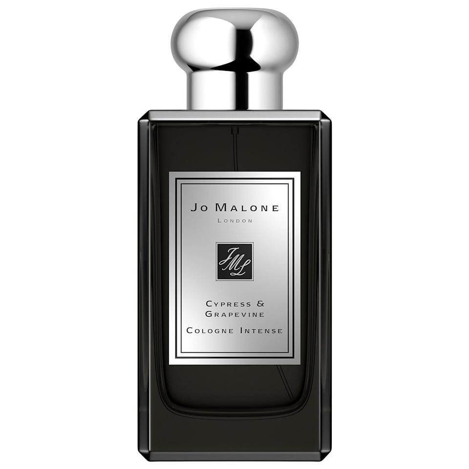 <p><span>Jo Malone London Cypress and Grapevine Cologne Intense</span> ($135-$195) makes one earthy scent (just like an autumn walk through cypress trees or mossy grapevines, right after the rain).</p>