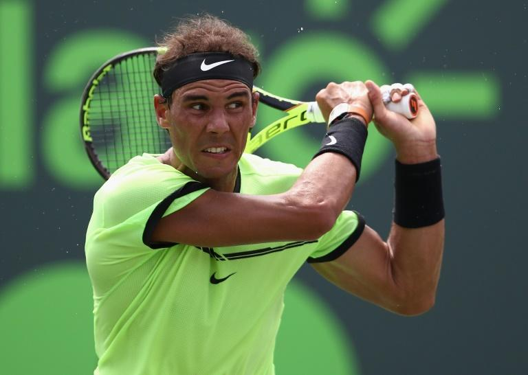 Roger Federer has beaten Rafael Nadal (pictured) this year at the Australian Open, Indian Wells and now Miami Open