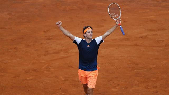 Rafael Nadal has been in supreme form on clay, but Dominic Thiem was able to make it third time lucky in recent meetings between the two.