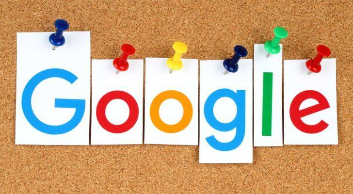 letters spelling out google