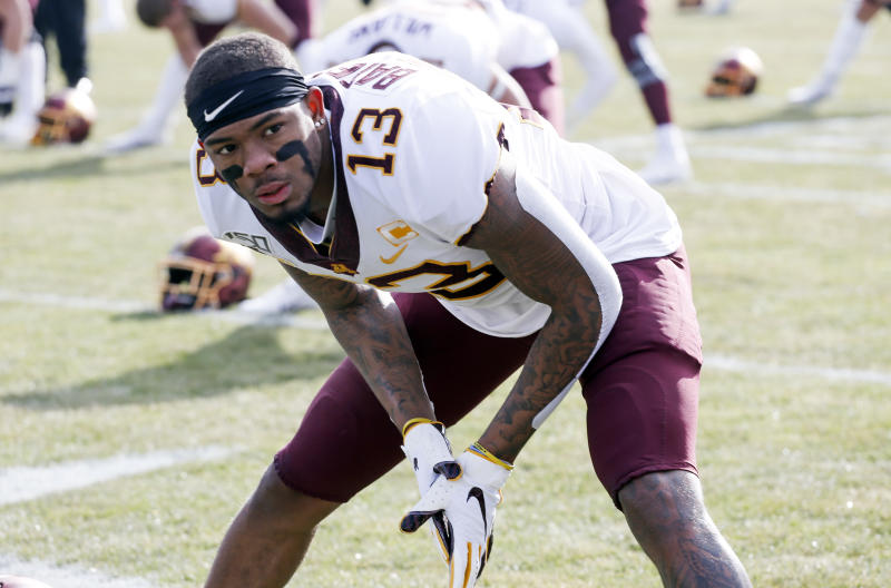 Will Minnesota's Rashod Bateman, who opted out of the 2020 season, be able to return to play in the Big Ten's schedule? (Nuccio DiNuzzo/Getty Images)
