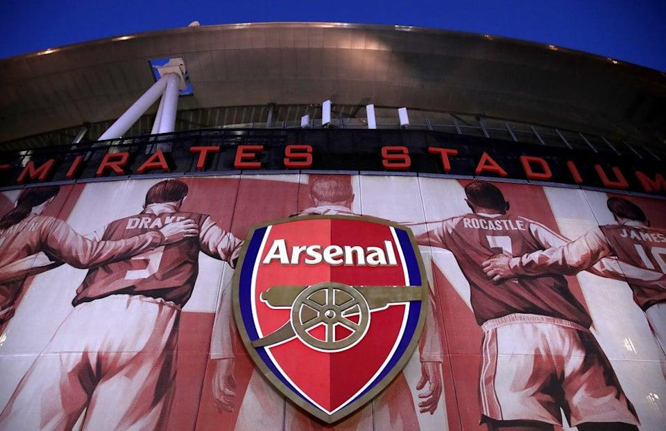A general view of the outside of Arsenal's Emirates Stadium (PA Wire)