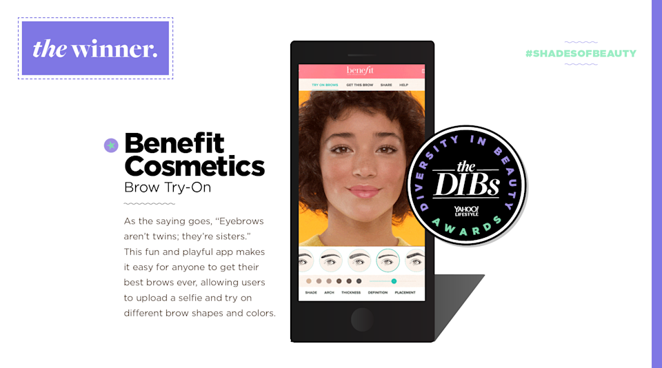 "<p>As the saying goes, ""Eyebrows aren't twins; they're sisters."" This fun and playful app makes it easy for anyone to get their best brows ever, allowing users to upload a selfie and try on different brow shapes and colors. (Art by Quinn Lemmers for Yahoo Lifestyle) </p>"