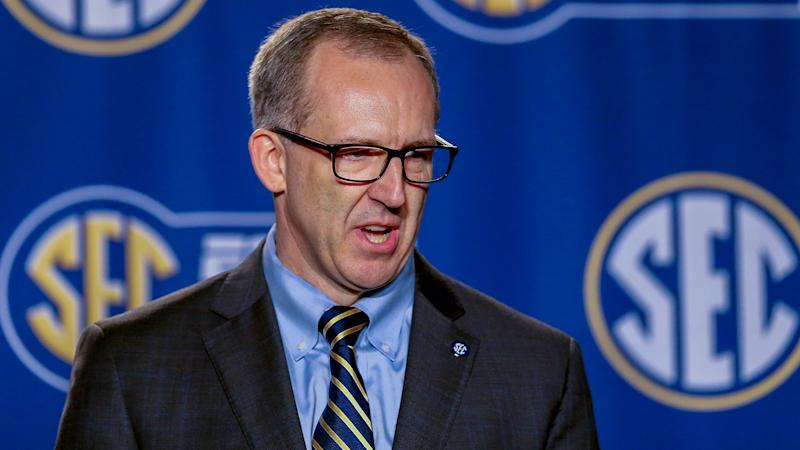 Commissioner Greg Sankey says SEC might not play in Mississippi if state gun law passes