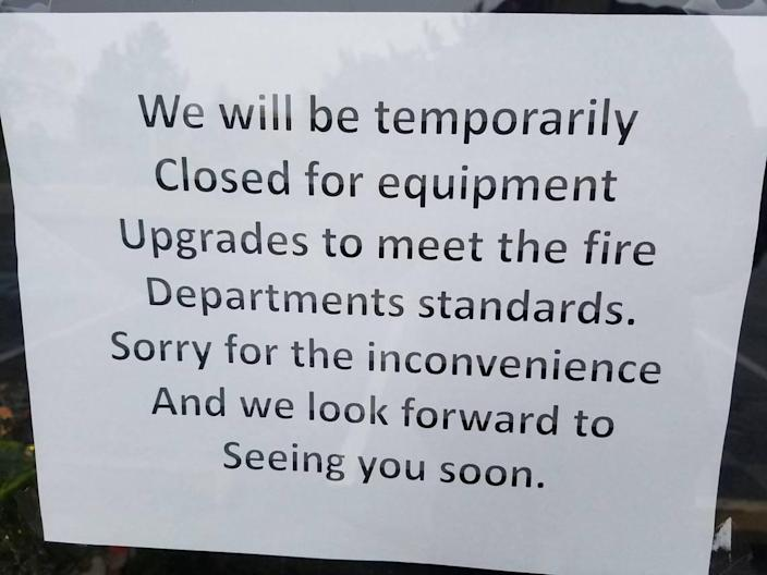 """The Boise Fire Department closed this restaurant """" gem """".  Will he come back?"""