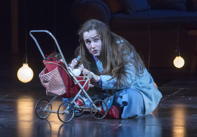"In this Feb. 22, 2013 photo provided by the New York City Opera, Lauren Worsham performs in the role of Flora during a dress rehearsal of ""The Turn of the Screw,"" by the New York City Opera at the Brooklyn Academy of Music in New York. (AP Photo/New York City Opera, Richard Termine)"