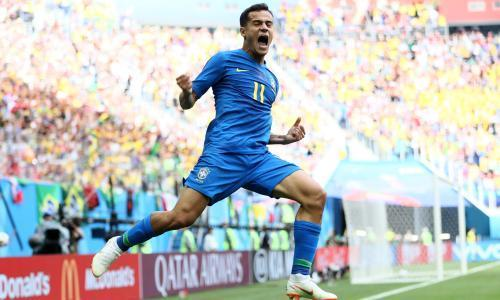 Philippe Coutinho, the quiet master in Brazil's World Cup high drama