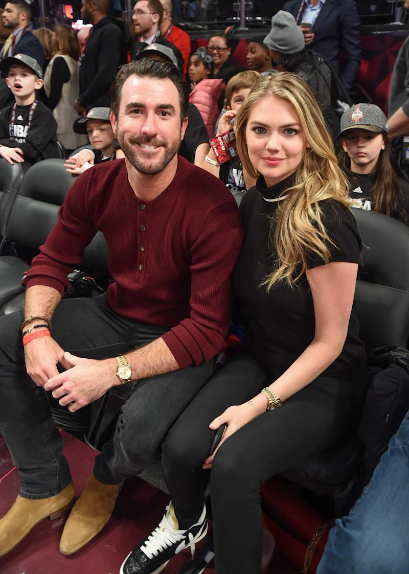 "Kate Upton Wants Her Wedding Dress to Have a ""Flair of Sexuality"""