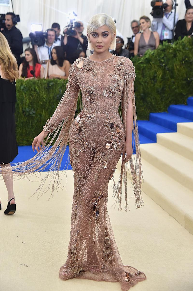 Kylie Jenner at the Met Gala (Getty Images)