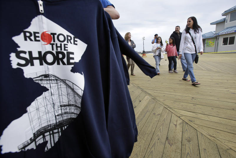 Jersey shore readies for 1st post-Sandy summer