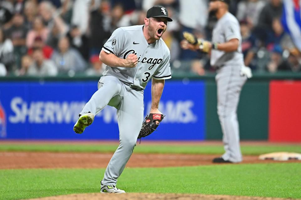White Sox closer Liam Hendriks was an All-Star in 2021.