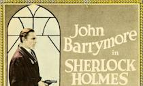 <p>Drew Barrymore's grandad played Sherlock Holmes in the 1922 silent movie adaption of William Gillette's 1899 play. For decades the movie was thought lost but was rediscovered in the Mid-1970s. </p>