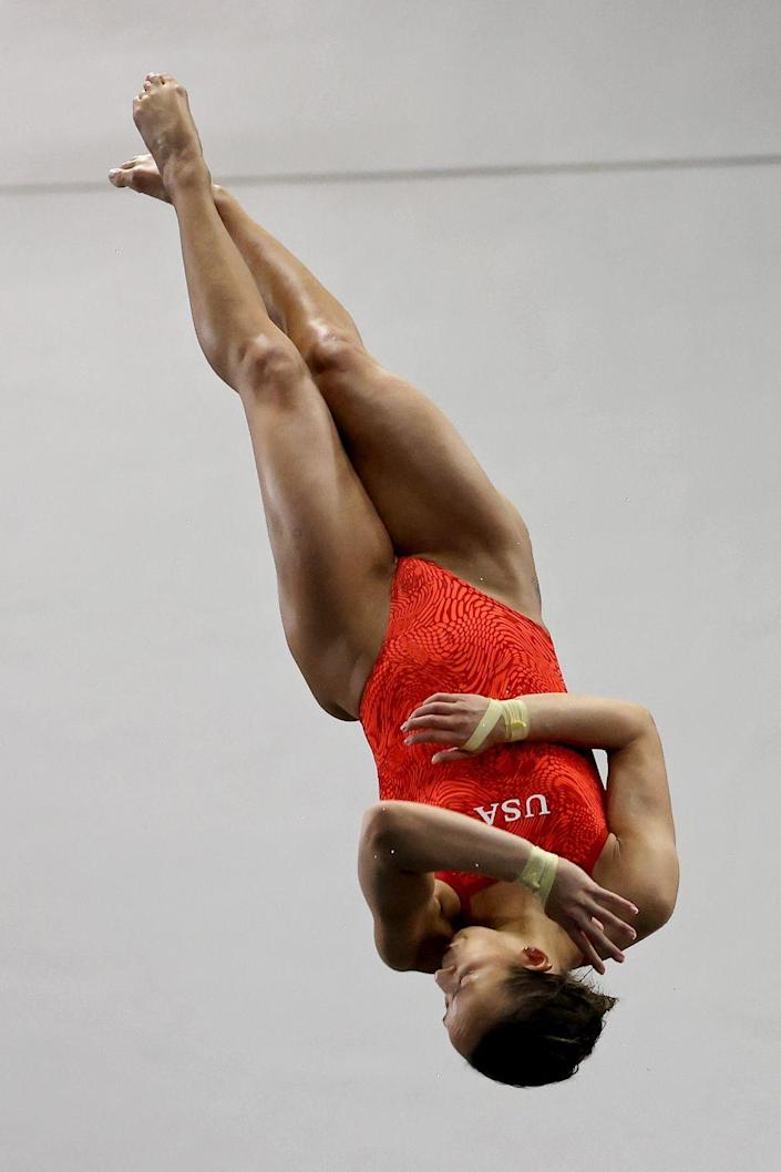 <p>Diving is <em>about </em>as terrifying as an Olympic sport gets, which makes it the sport you'll most likely sit down and watch for three hours if your roommate happens to have it on. </p>