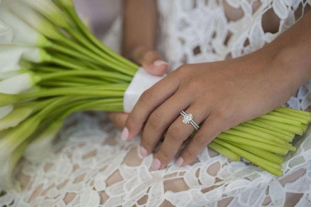 Forevermark and celebrity stylist Micaela Erlanger collaborate to create a bridal collection of engagement rings. (Forevermark)