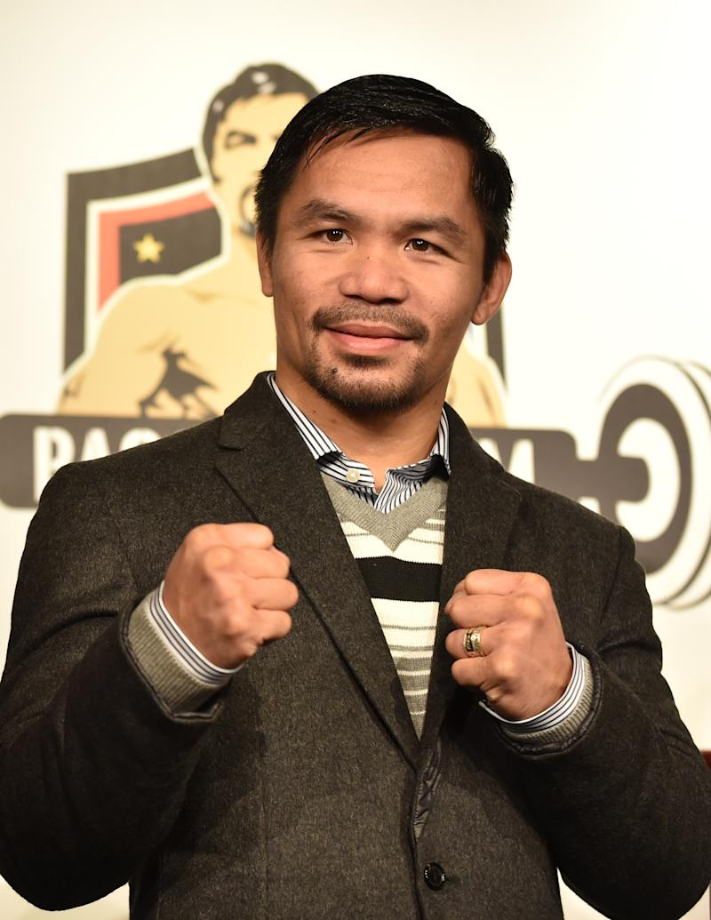 Pacquiao, Khan reach terms for April 23 fight