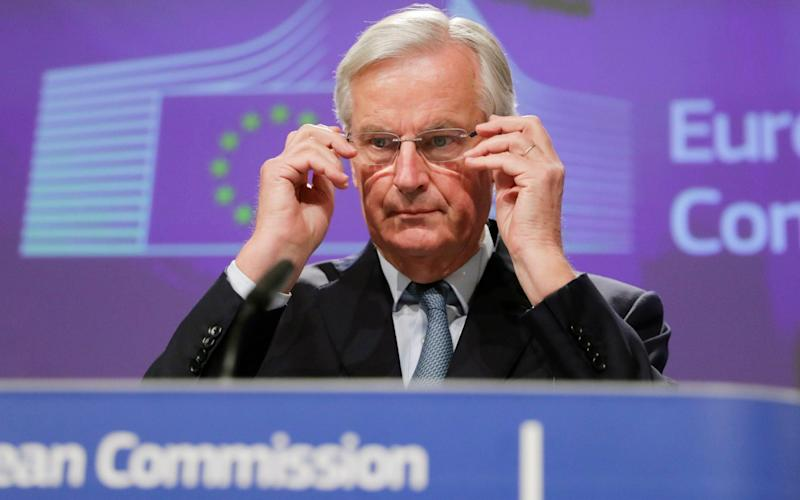 Michel Barnier said the checks were a mechanical consequence of Brexit. - Rex