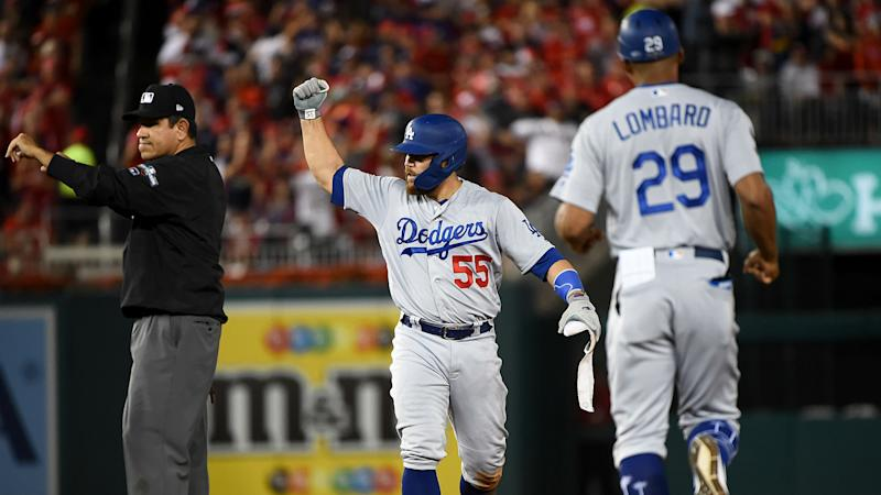 Dodgers power into 2-1 NLDS lead over Nationals