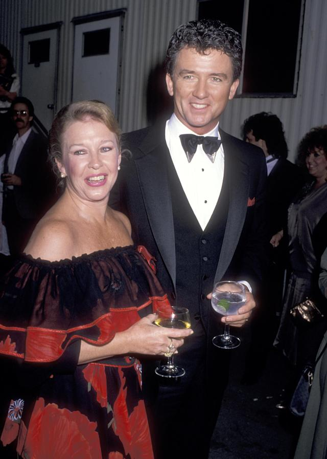 Patrick Duffy spoke lovingly of his late wife Carlyn Rosser. (Photo by Ron Galella, Ltd./Ron Galella Collection via Getty Images)