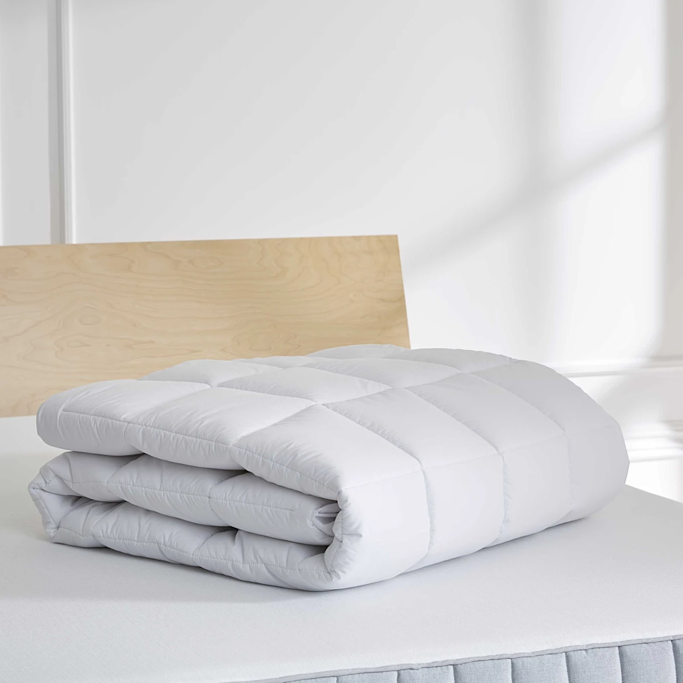 """<h3>Brooklinen Down Alternative Mattress Topper</h3><br><strong>Best For:</strong> <strong>A Heavenly Breathable Sleep</strong><br>This down alternative mattress topper is made from soft microgel material with a 100% organic cotton cover and tufted top. <br><br><strong>The Hype: 4.6 out of 5 stars</strong><br><br><strong>Sleepers Say:</strong> """"Heaven! We bought a new mattress, and my hubby said he wanted more smooosh on top. I didn't want to be hotter. The down alternative mattress topper makes us both SO happy! Aaaahhhhh....."""" <em>– Harriet M., Brooklinen Reviewer</em><br><br><em>Shop <strong><a href=""""https://www.brooklinen.com/products/mattress-pad"""" rel=""""nofollow noopener"""" target=""""_blank"""" data-ylk=""""slk:Brooklinen"""" class=""""link rapid-noclick-resp"""">Brooklinen</a></strong></em><br><br><strong>Brooklinen</strong> Down Alternative Mattress Topper, $, available at <a href=""""https://go.skimresources.com/?id=30283X879131&url=https%3A%2F%2Fwww.brooklinen.com%2Fproducts%2Fmattress-pad"""" rel=""""nofollow noopener"""" target=""""_blank"""" data-ylk=""""slk:Brooklinen"""" class=""""link rapid-noclick-resp"""">Brooklinen</a>"""