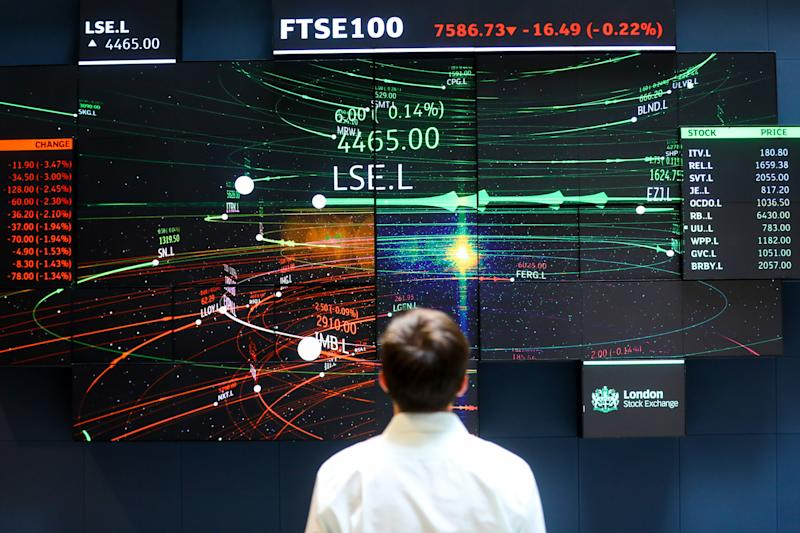 LSE Falls to Six-Month Low on Brexit Fears Amid Broader Slump