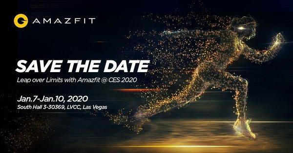 Booth location, Huami Amazfit global product launch at CES 2020