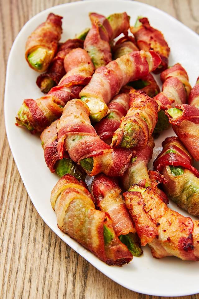 """<p>They're low-carb!! Eat your heart out!!!</p><p>Get the recipe from <a href=""""https://www.delish.com/cooking/recipe-ideas/recipes/a48261/bacon-avocado-fries-recipe/"""" target=""""_blank"""">Delish</a>.</p>"""
