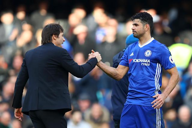 Antonio Conte has brought Diego Costa back in from the cold